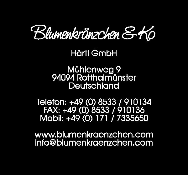 Blumenkränzchen Kontaktinformationen